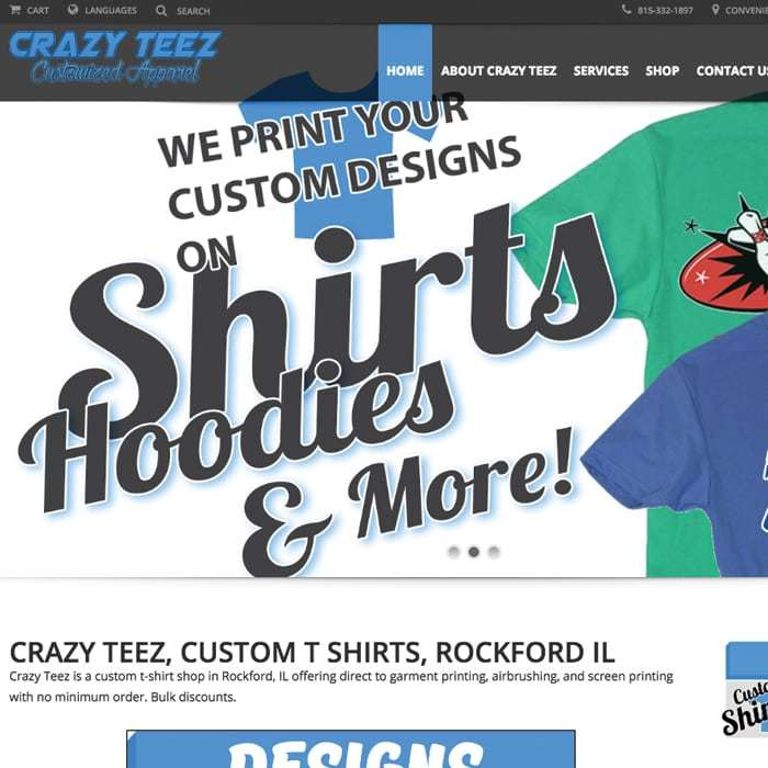Crazy Teez Apparel