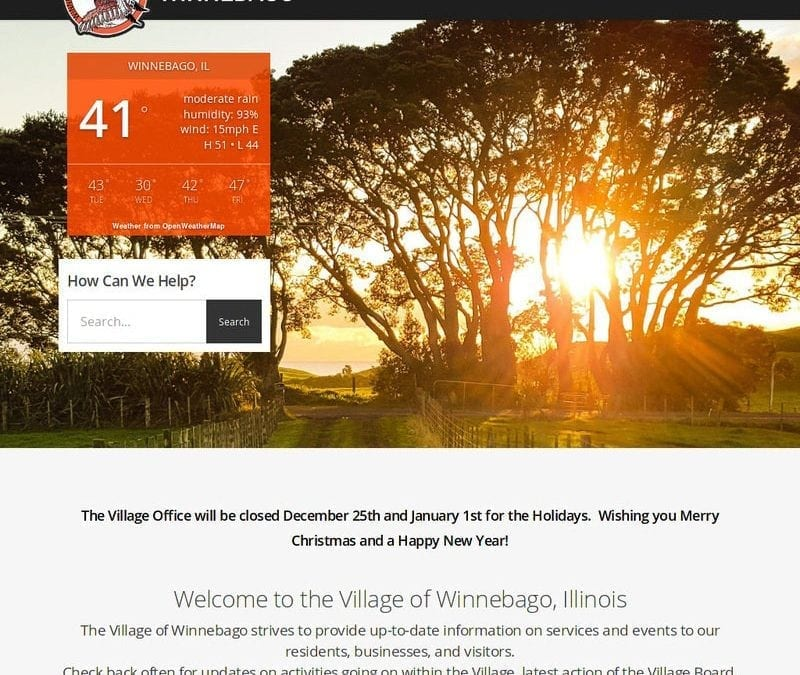 Village of Winnebago