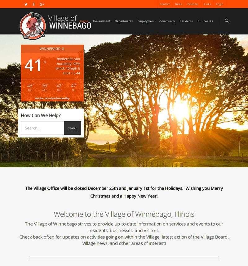 Village of Winnebago
